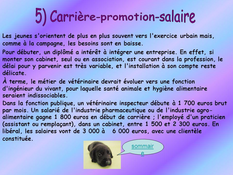 5) Carrière-promotion-salaire