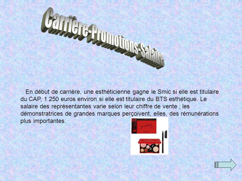 Carrière-Promotions-Salaire