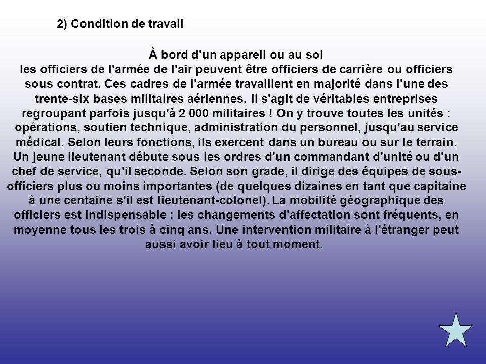 Fiche m tier arm e de l 39 air 1 description du m tier ppt - Sous prefecture le raincy bureau des etrangers ...