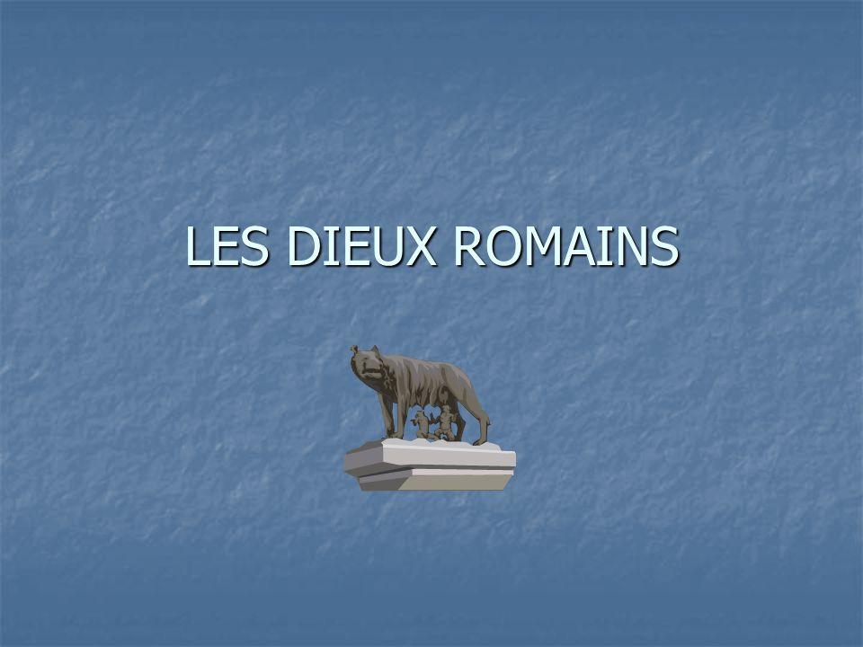LES DIEUX ROMAINS