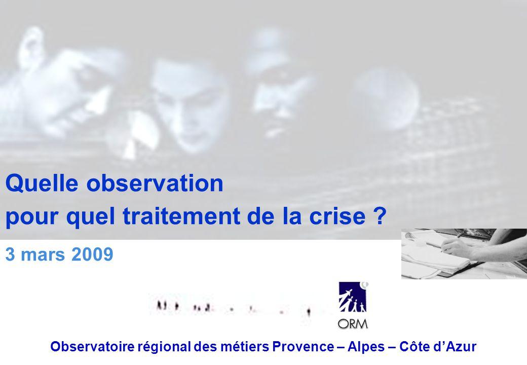 Observatoire régional des métiers Provence – Alpes – Côte d'Azur