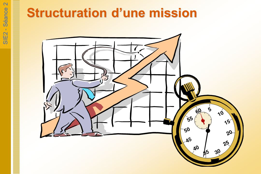 Structuration d'une mission