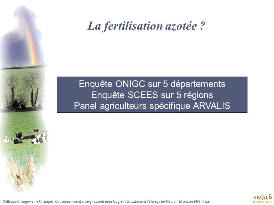 La fertilisation azotée