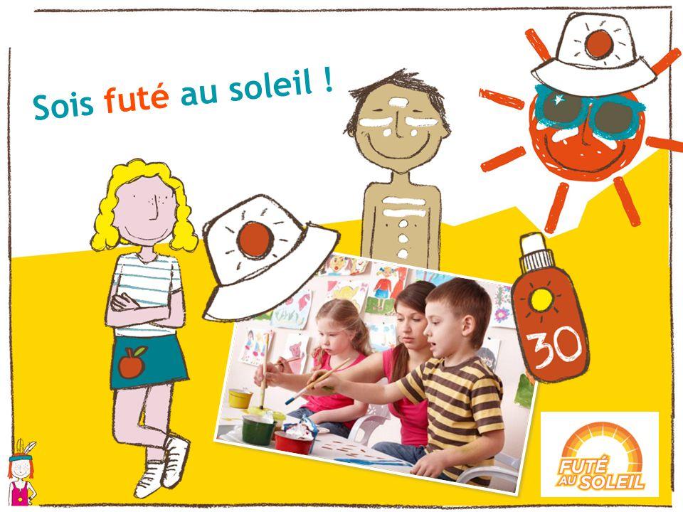 Sois futé au soleil ! Pour finir l activité, faites réaliser aux enfants un dessin d eux au soleil.
