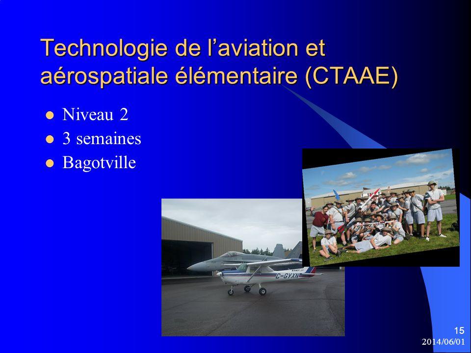 Technologie de l'aviation et aérospatiale élémentaire (CTAAE)