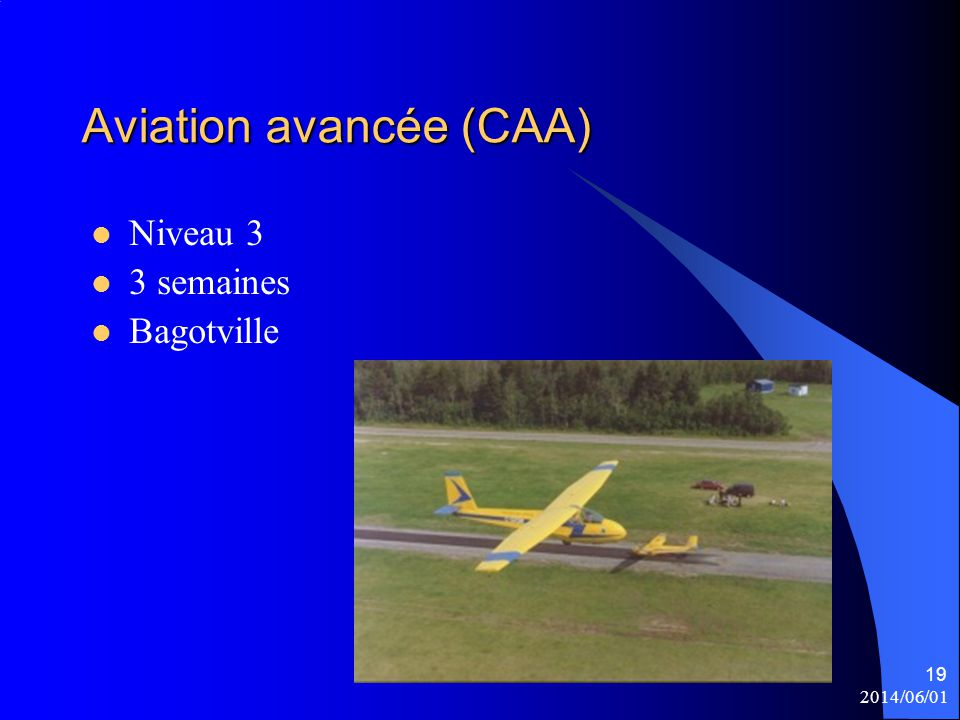 Aviation avancée (CAA)