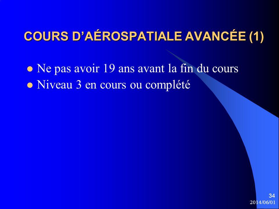 COURS D'AÉROSPATIALE AVANCÉE (1)