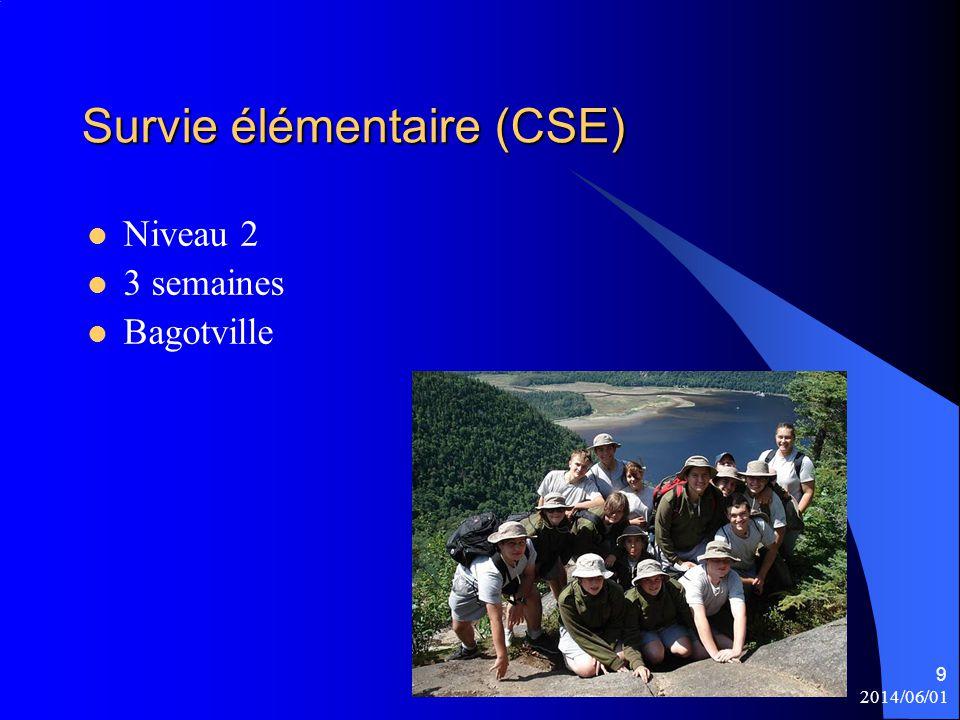 Survie élémentaire (CSE)