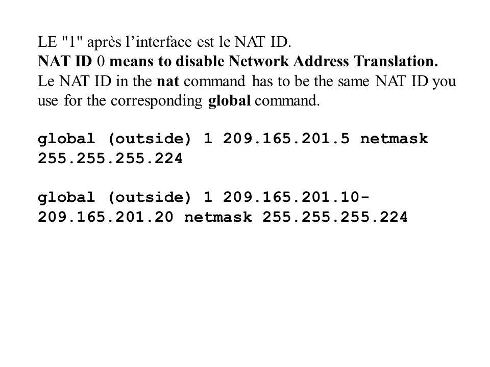 LE 1 après l'interface est le NAT ID.