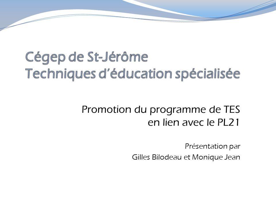 Cégep de St-Jérôme Techniques d'éducation spécialisée