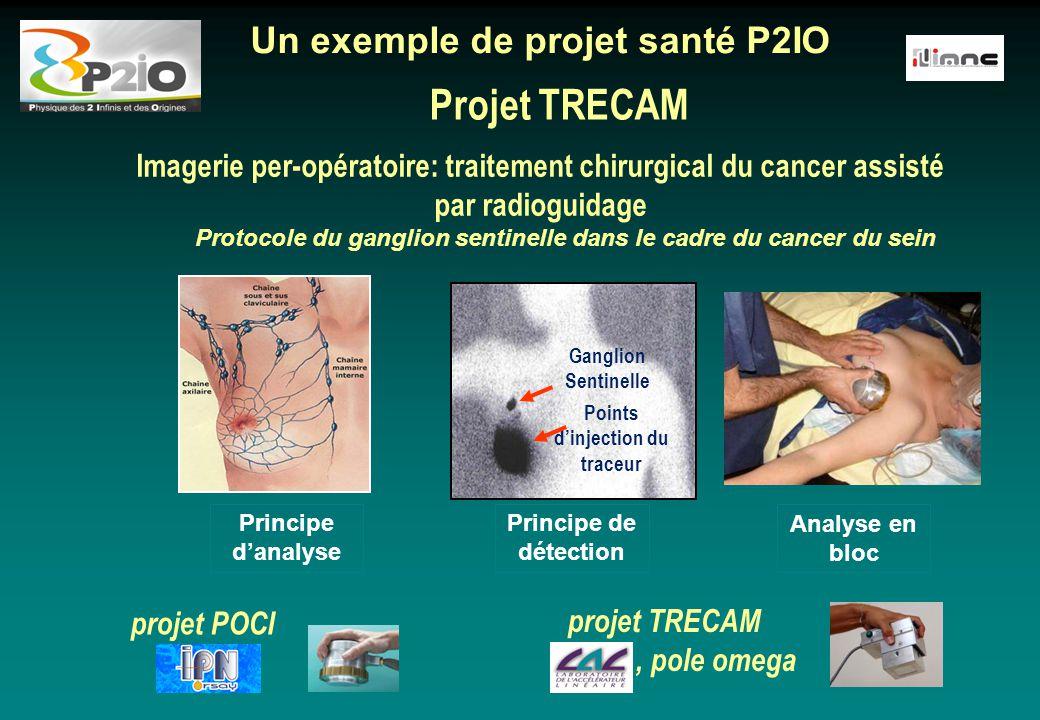 Projet TRECAM Un exemple de projet santé P2IO