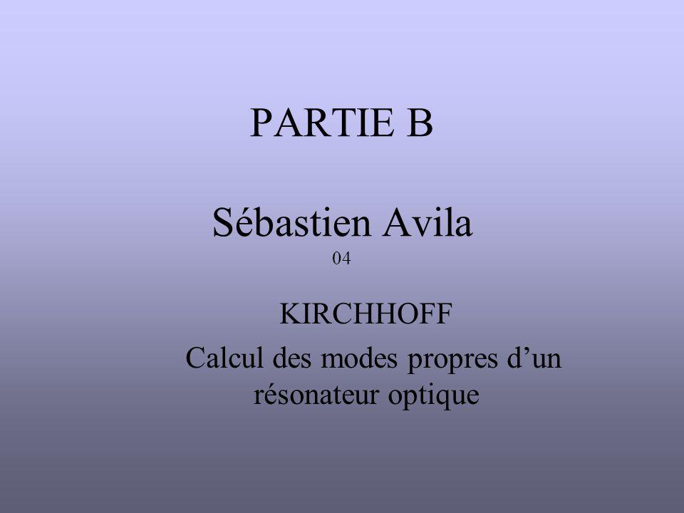 PARTIE B Sébastien Avila 04