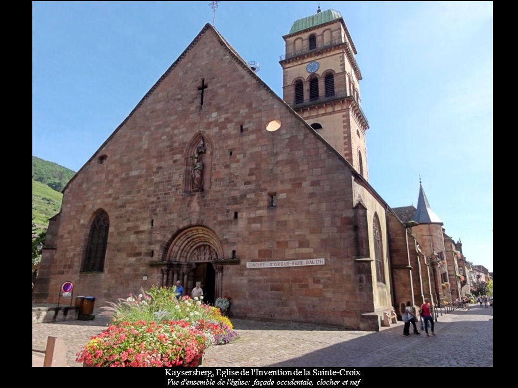 Kaysersberg, Eglise de l Invention de la Sainte-Croix
