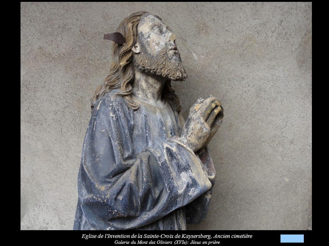 Galerie du Mont des Oliviers (XVIe): Jésus en prière