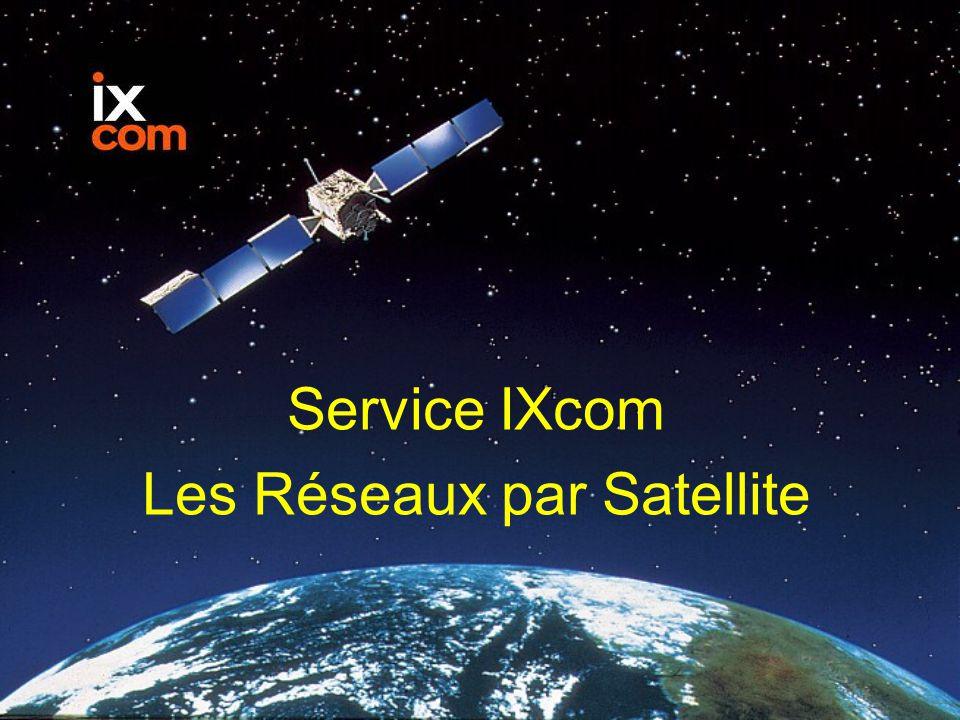 Les Réseaux par Satellite