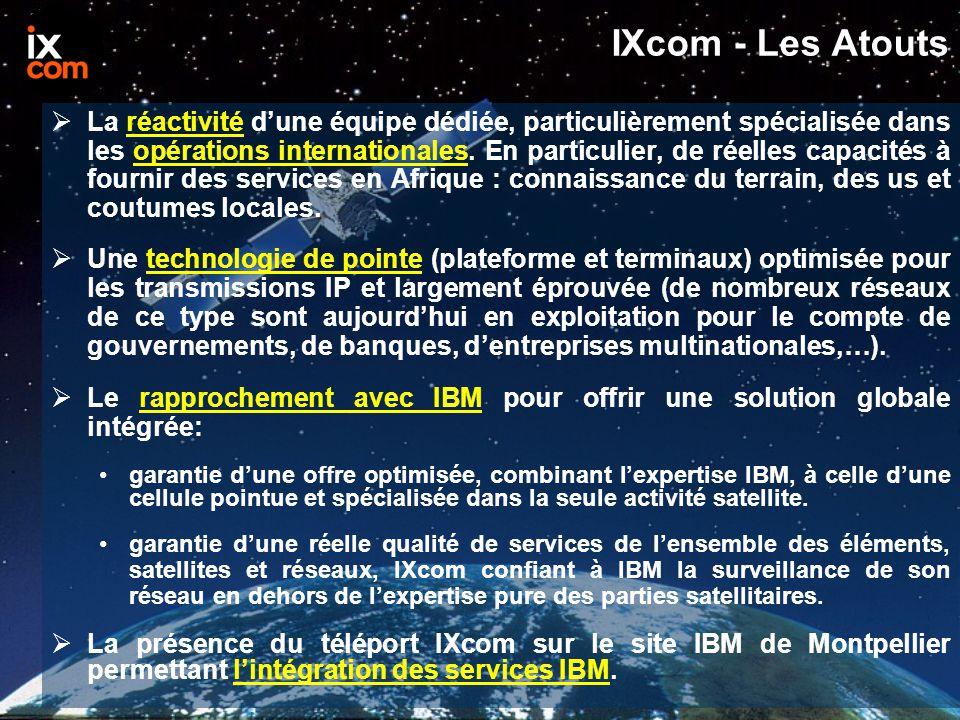 IXcom - Les Atouts