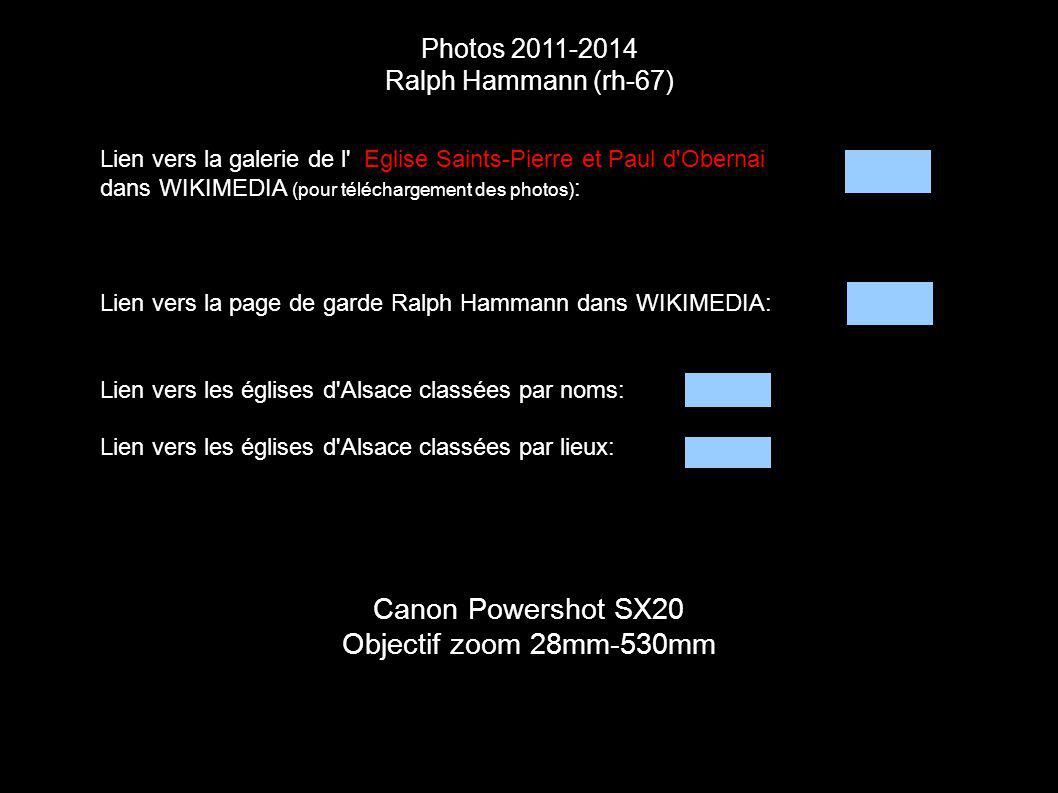 Canon Powershot SX20 Objectif zoom 28mm-530mm Photos 2011-2014