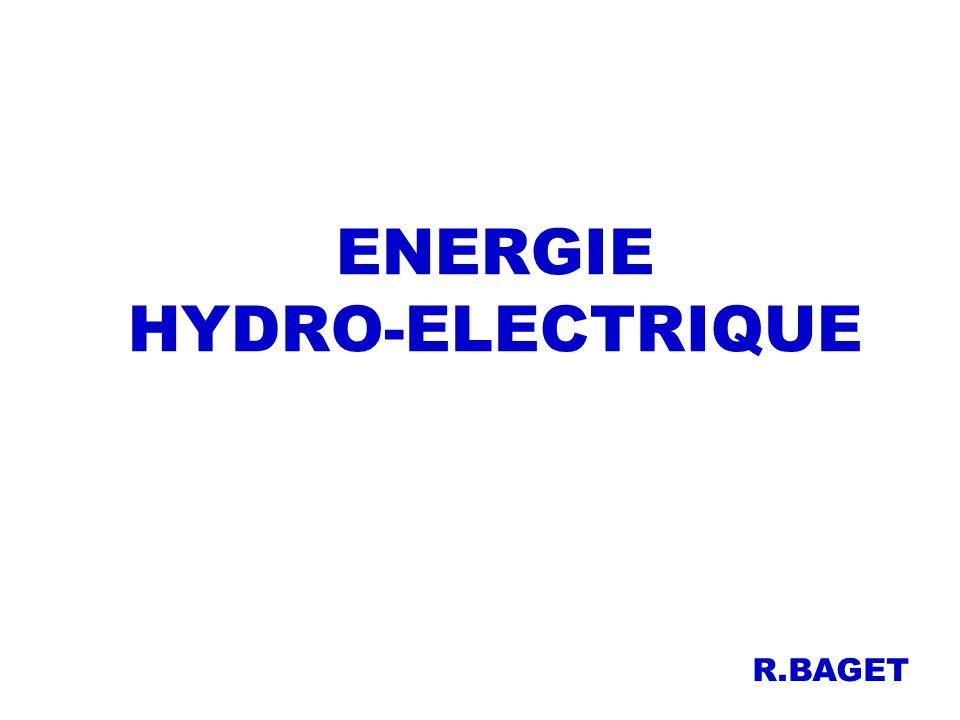 ENERGIE HYDRO-ELECTRIQUE