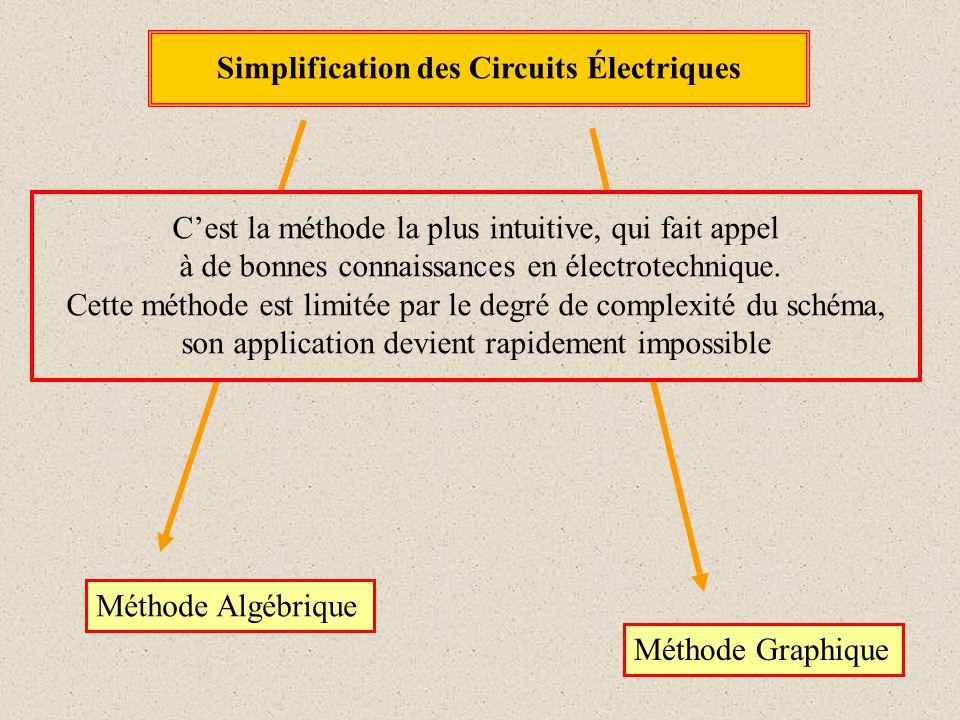 Simplification des Circuits Électriques