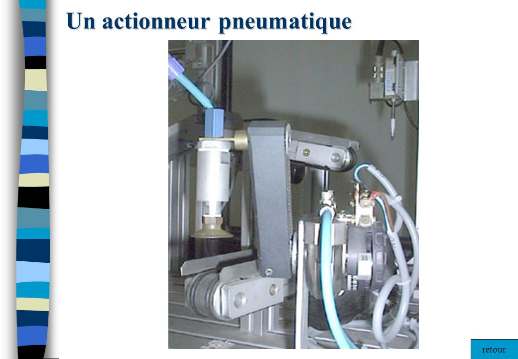 Un actionneur pneumatique