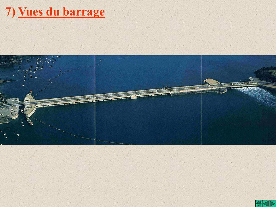 7) Vues du barrage