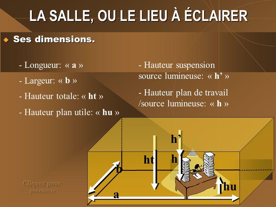 LA SALLE, OU LE LIEU À ÉCLAIRER