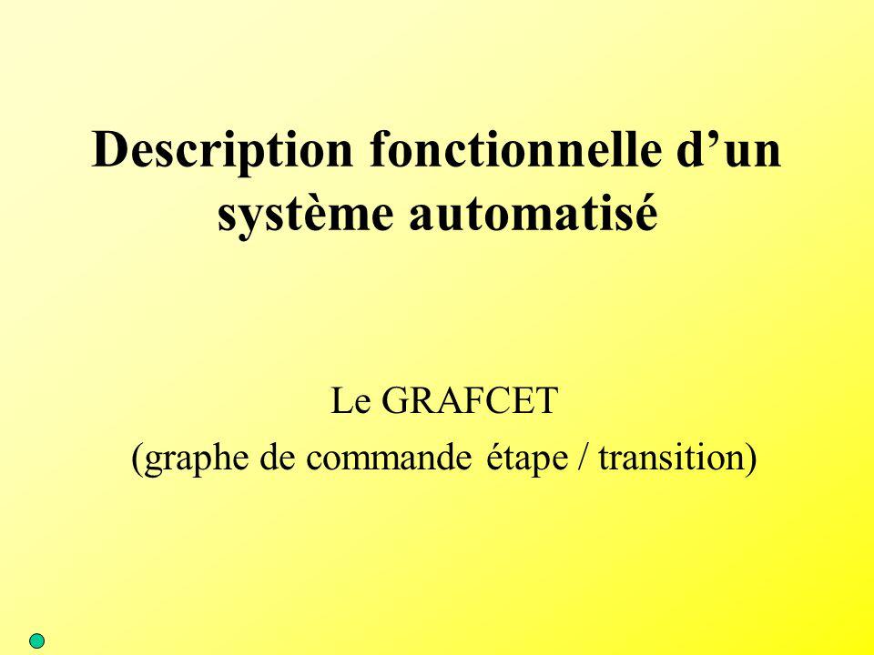 Description fonctionnelle d'un système automatisé