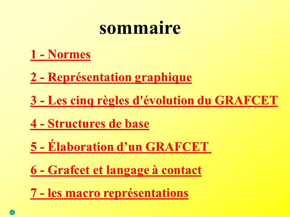 sommaire 1 - Normes 2 - Représentation graphique
