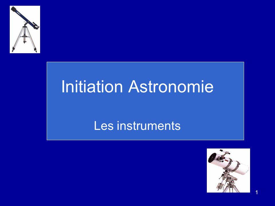 Initiation Astronomie