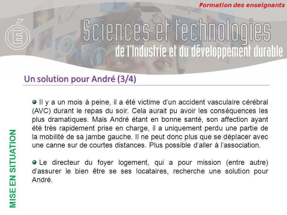 Un solution pour André (3/4)