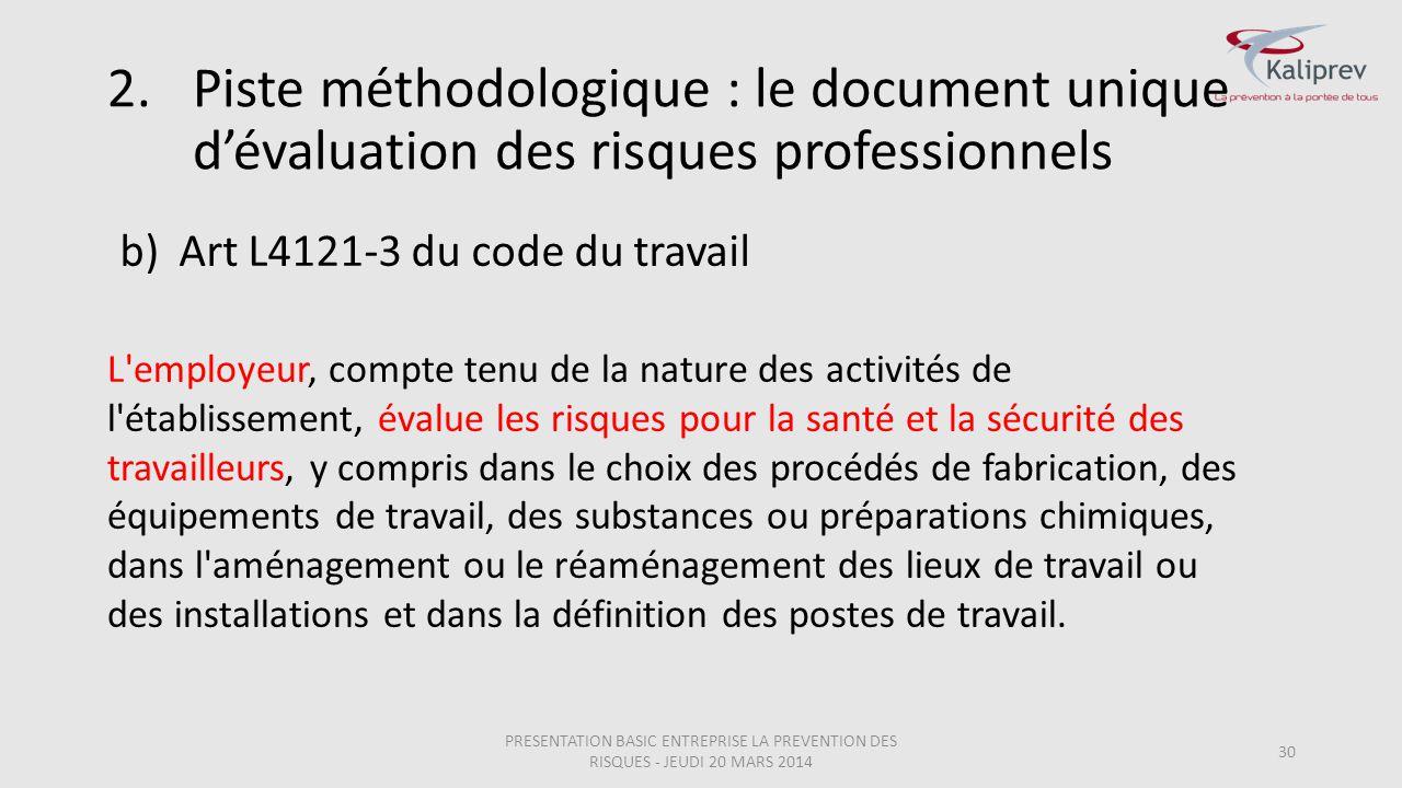 Art L4121-3 du code du travail