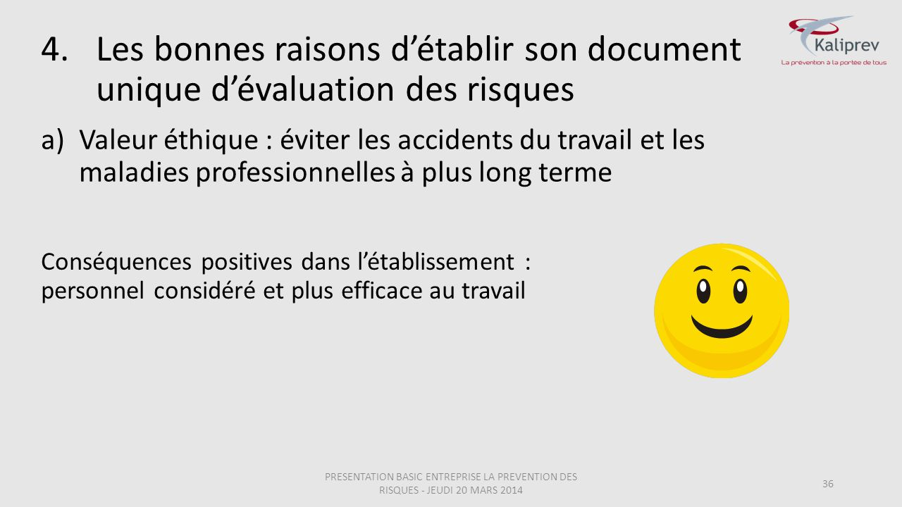 Les bonnes raisons d'établir son document unique d'évaluation des risques