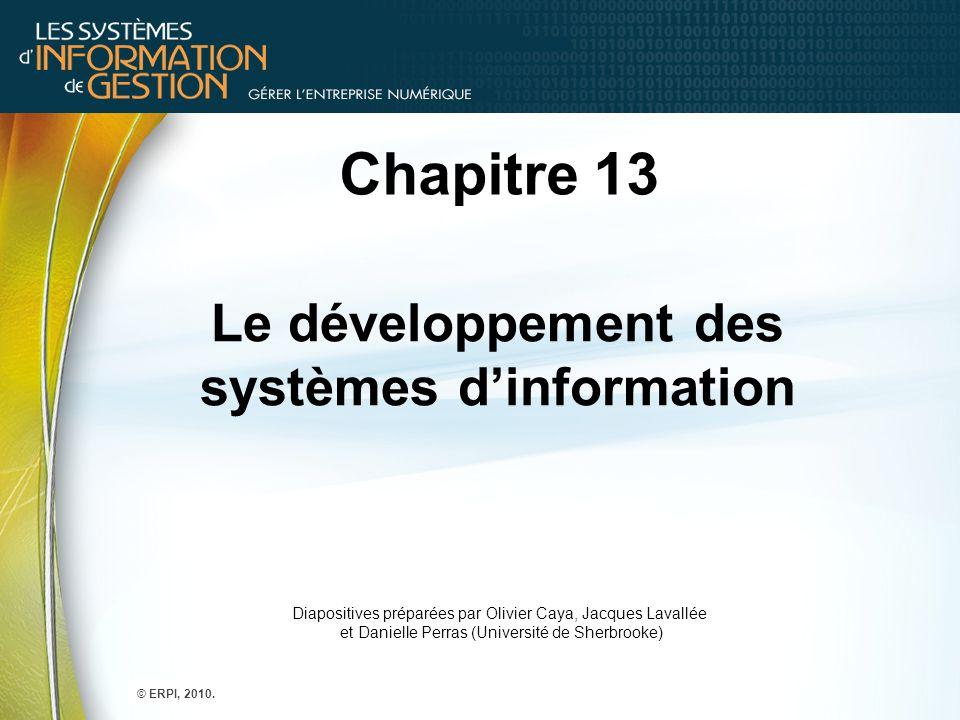 Le développement des systèmes d'information