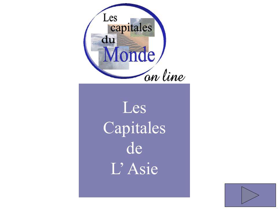 Les Capitales de L' Asie