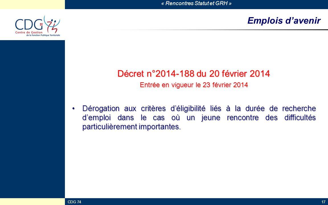 Entrée en vigueur le 23 février 2014