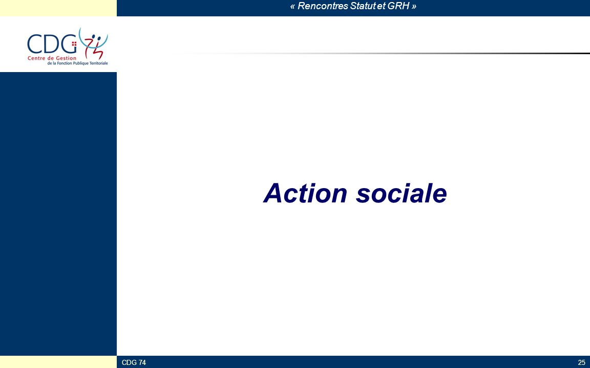Action sociale CDG 74