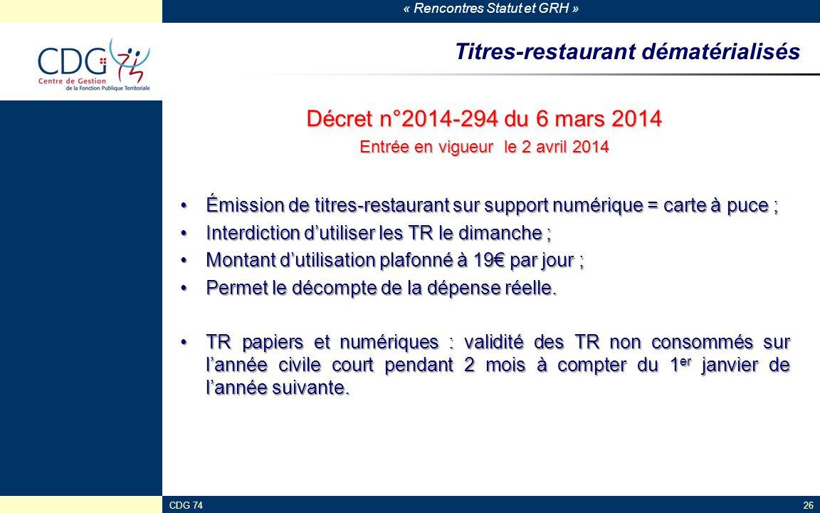 Titres-restaurant dématérialisés