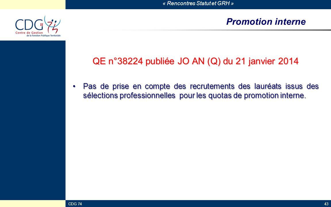 QE n°38224 publiée JO AN (Q) du 21 janvier 2014
