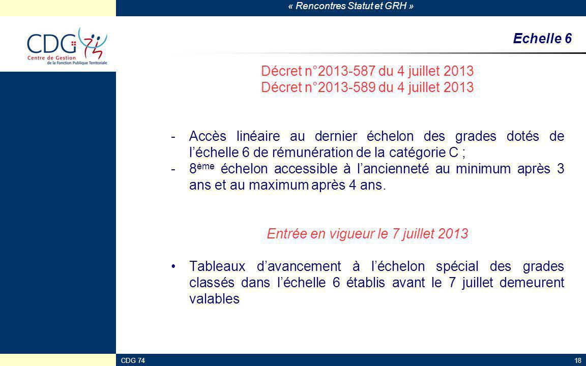 Entrée en vigueur le 7 juillet 2013