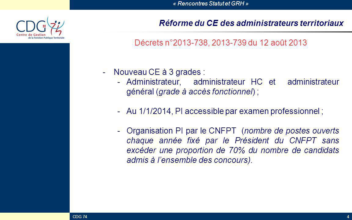 Réforme du CE des administrateurs territoriaux