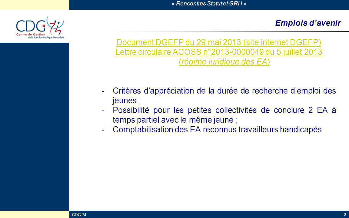 Document DGEFP du 29 mai 2013 (site internet DGEFP)
