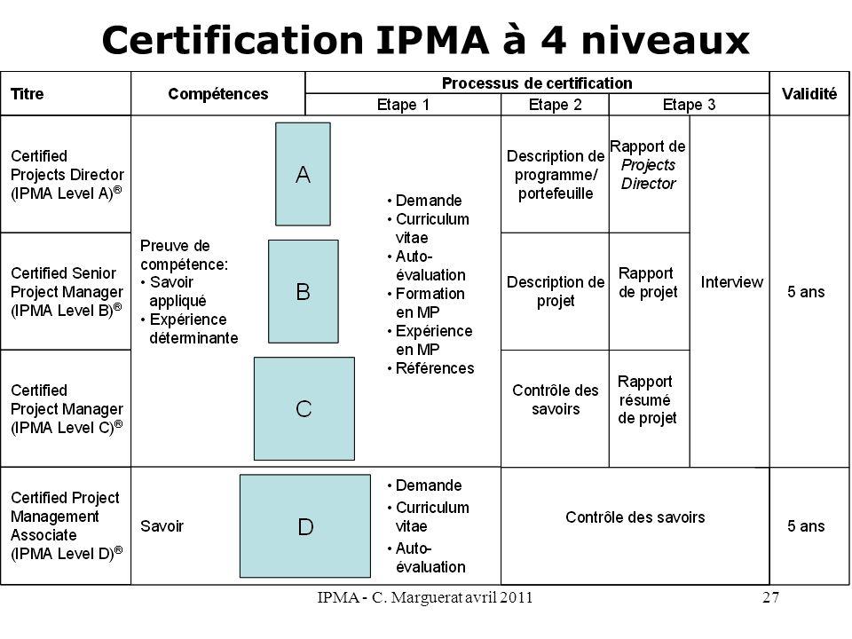r u00e9f u00e9rentiel et certification