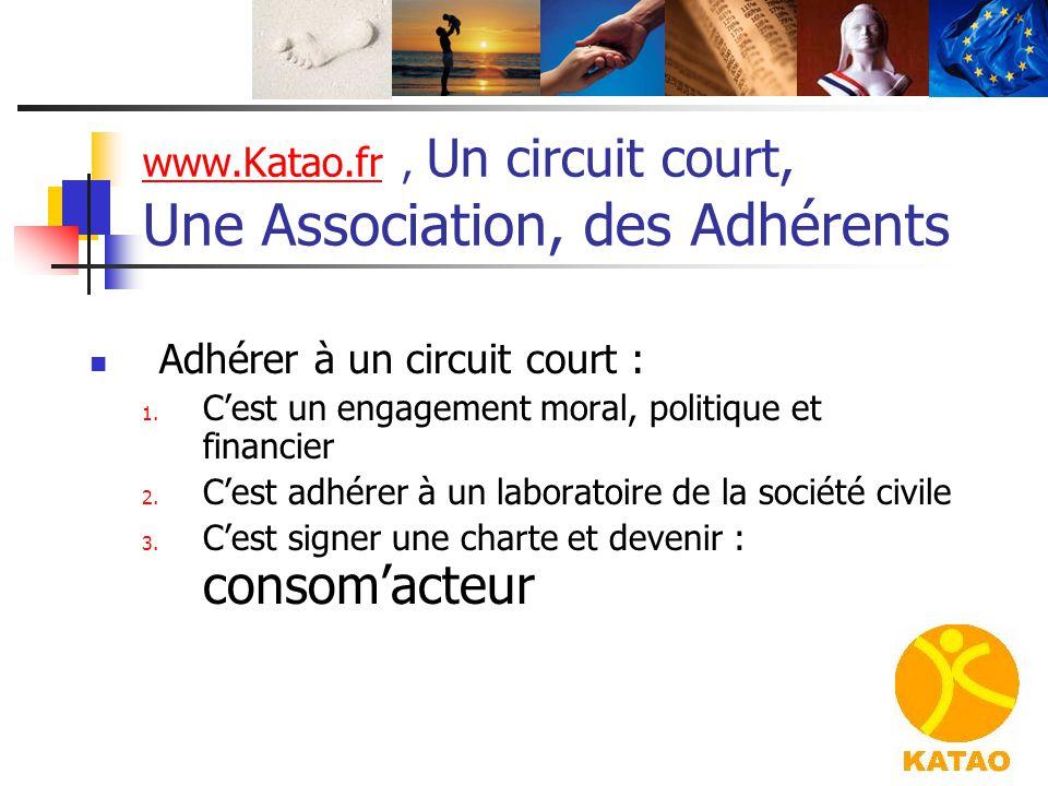 www.Katao.fr , Un circuit court, Une Association, des Adhérents