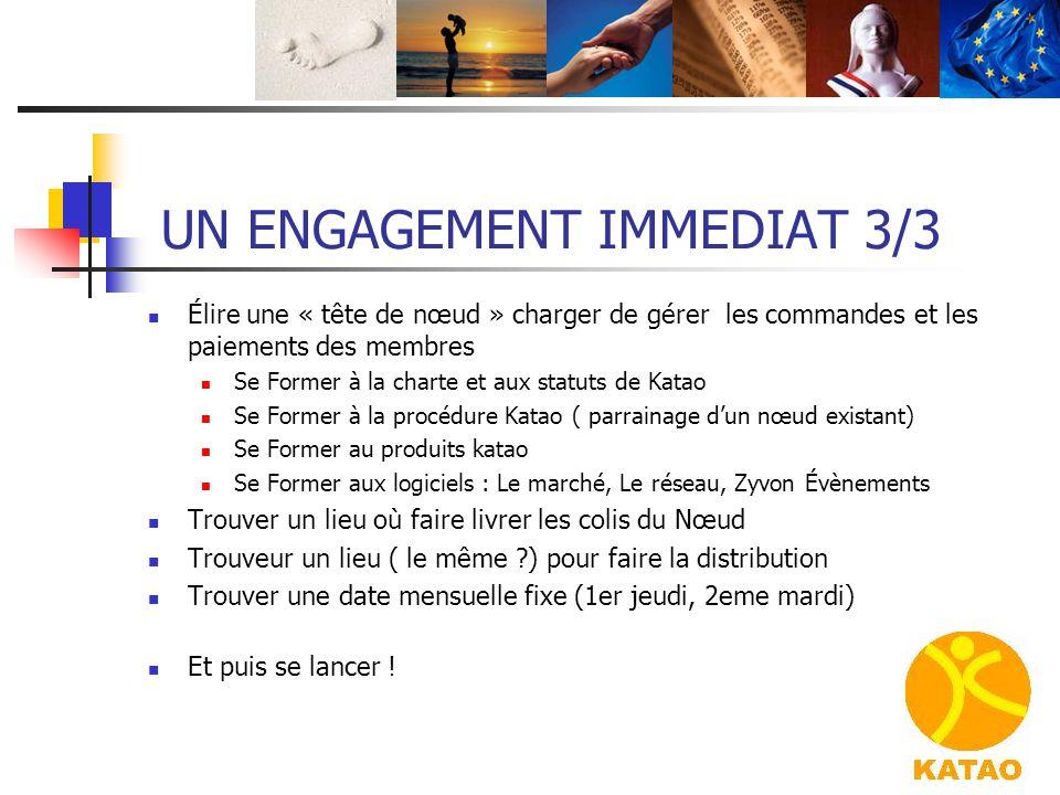 UN ENGAGEMENT IMMEDIAT 3/3