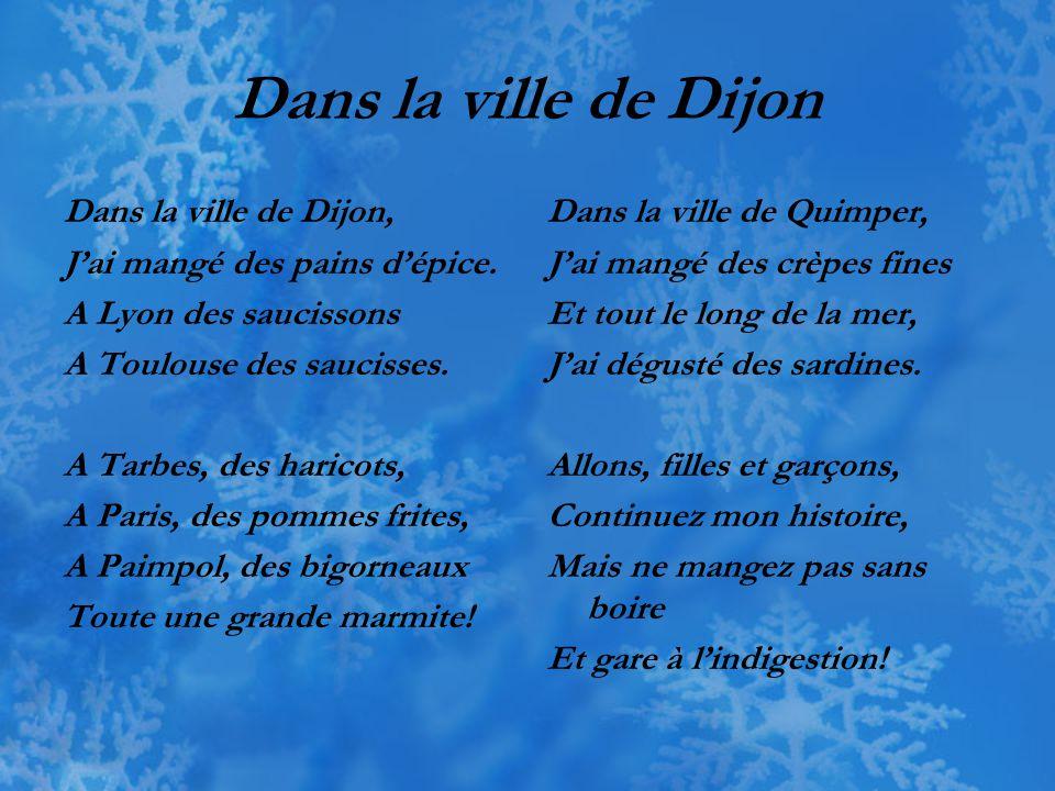 Dans la ville de Dijon Dans la ville de Dijon,