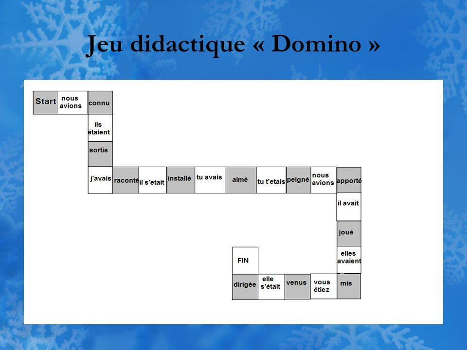 Jeu didactique « Domino »