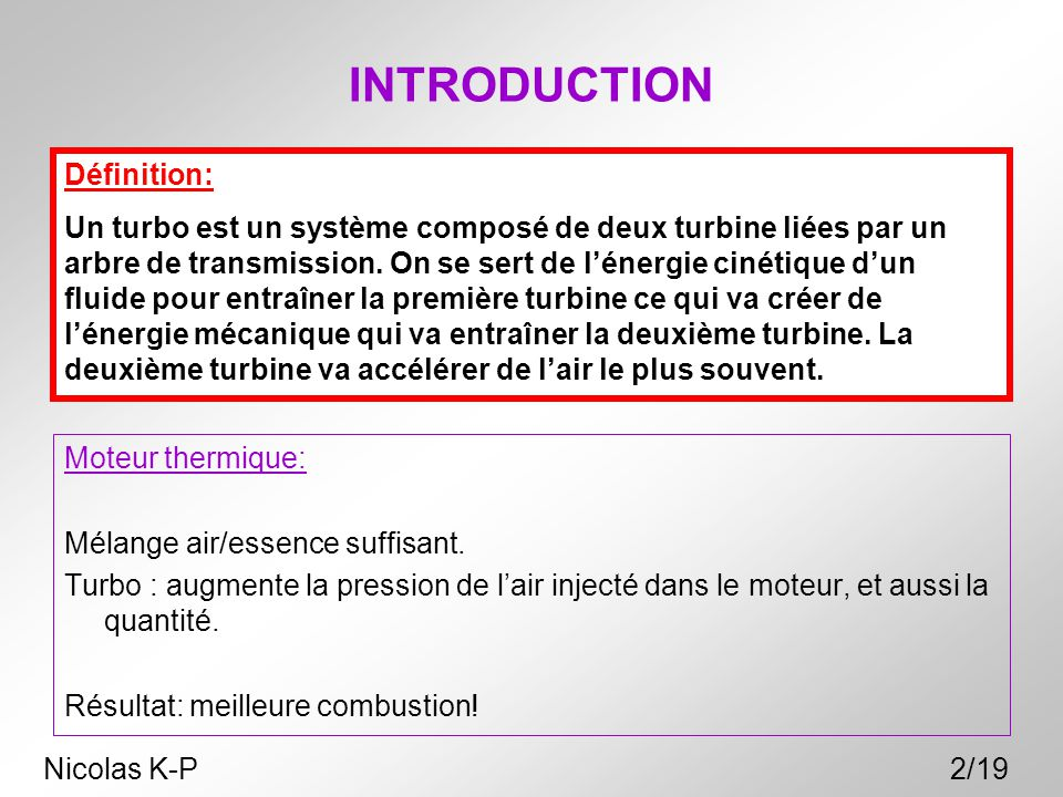 INTRODUCTION Définition: