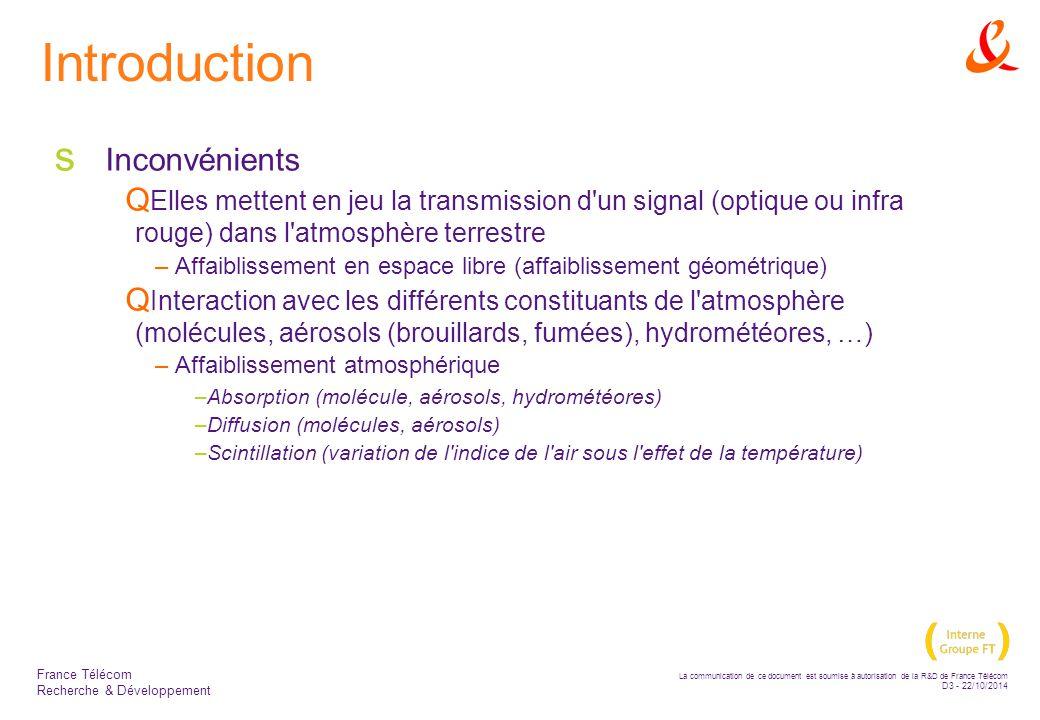 Introduction Inconvénients