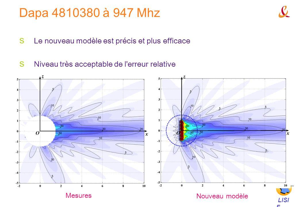 Dapa 4810380 à 947 Mhz Le nouveau modèle est précis et plus efficace