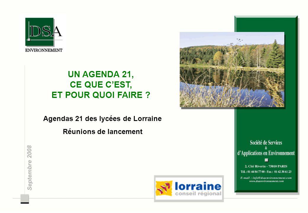 Agendas 21 des lycées de Lorraine